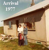 Arrival to Husavik, North Iceland in 1977
